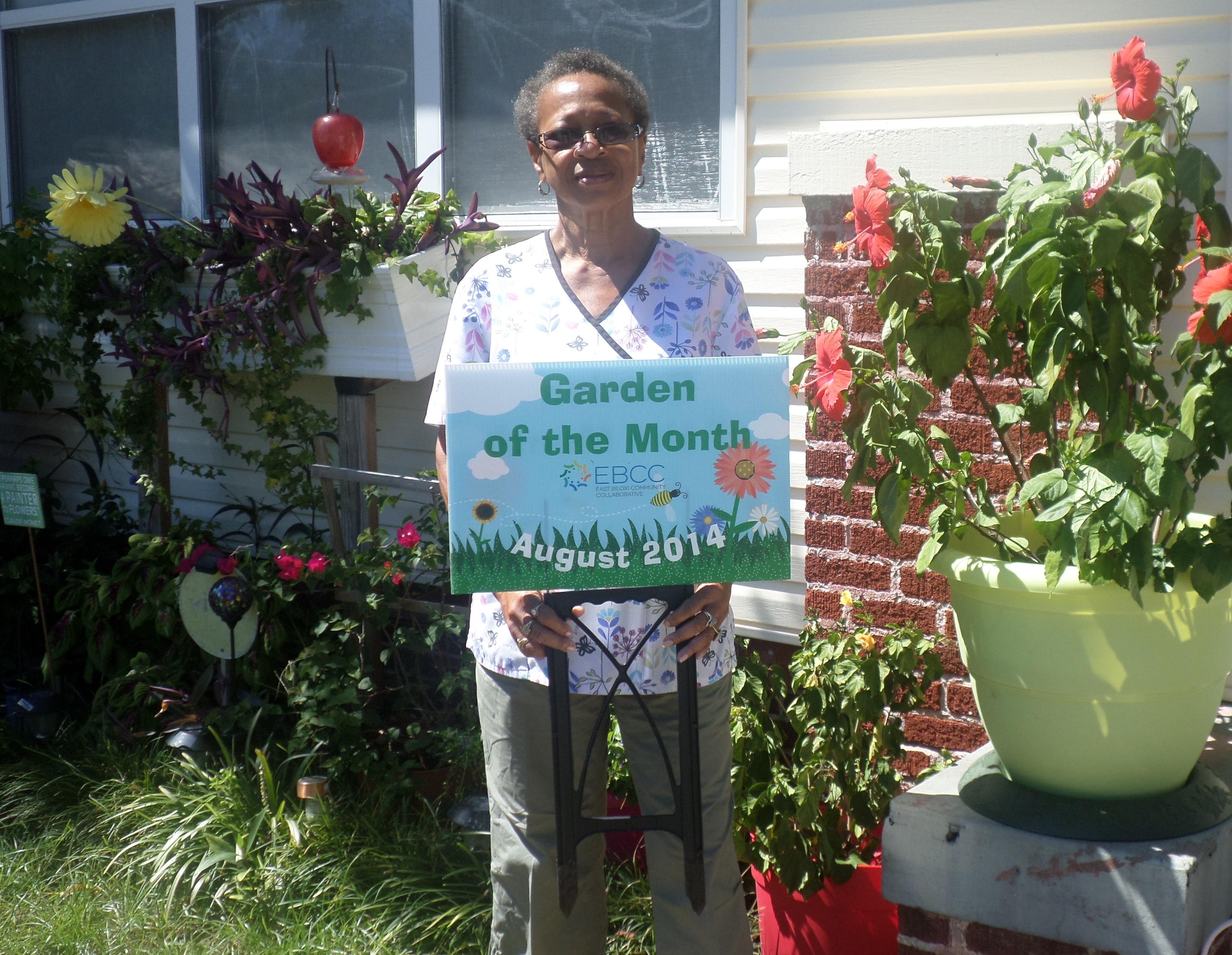 August 2014 - Garden of the Month Winners